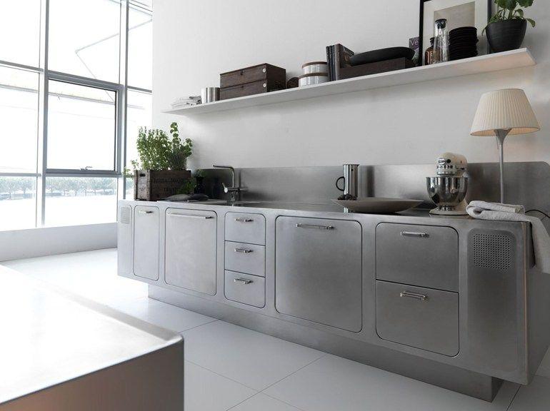 Kitchen ABIMIS by PRISMA Kök Pinterest Stainless steel kitchen