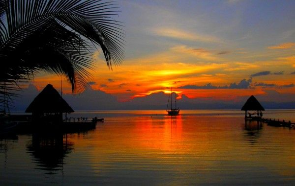 Photo Wallpaper High Quality Wallpaper Beach Scenery: Tropical Sunset - HD Wallpapers