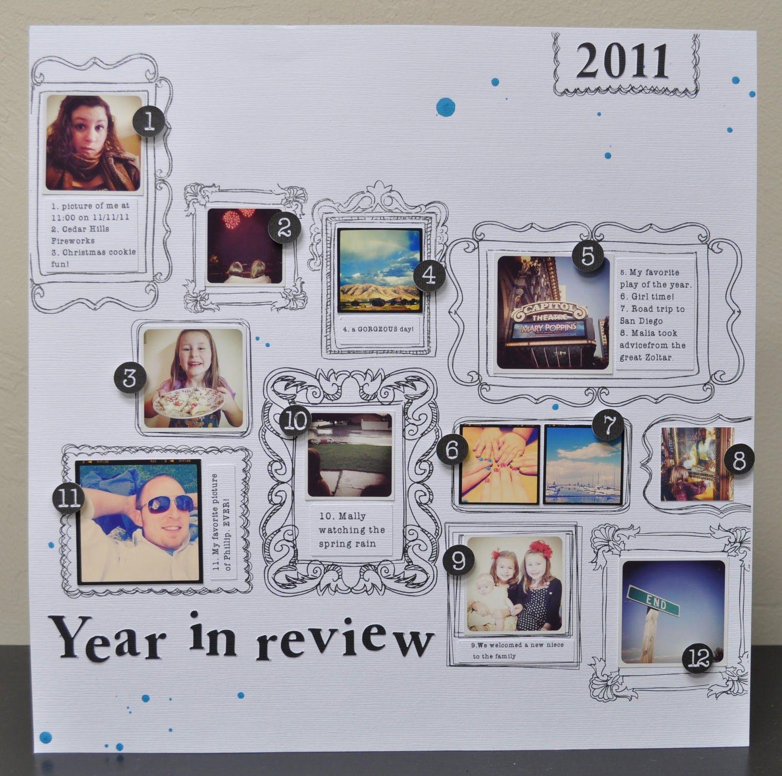Sketch frame scrapbook layout | idées pages scrap | Pinterest ...