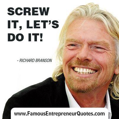 richard bransons screwitletsdoit Branson centre of entrepreneurship south africa, johannesburg, gauteng: rated 46 of 5, check 59 reviews of branson centre of entrepreneurship south.