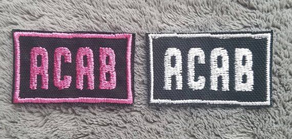 Acab Patch In 2018 Pins Patches Pinterest Patches