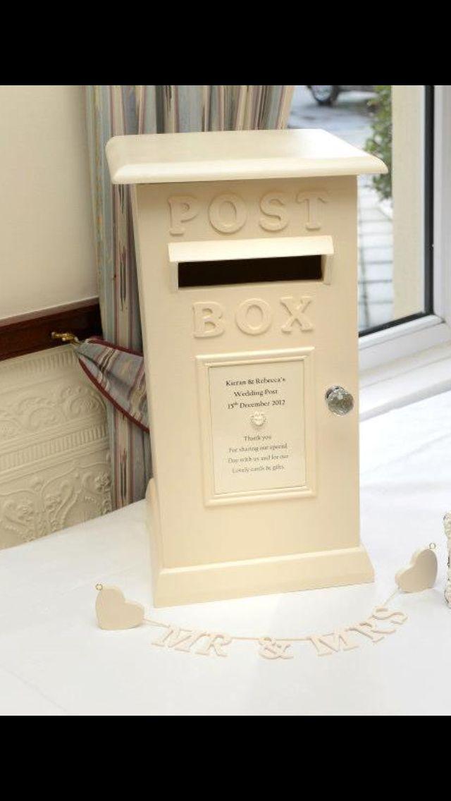 Wedding Postbox Wedding Post Box Card Box Wedding Diy Card Box Wedding
