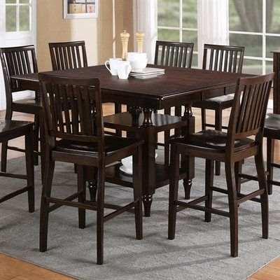 Steve Silver Company Candice Counter Dining Table With Butterfly Leaf In  Dark Espresso     Lowest Price Online On All Steve Silver Company Candice  Counter ...