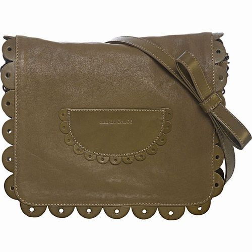 Nwt See By Chloe Poya Leather Shoulder Crossbody Bag Purse Moss