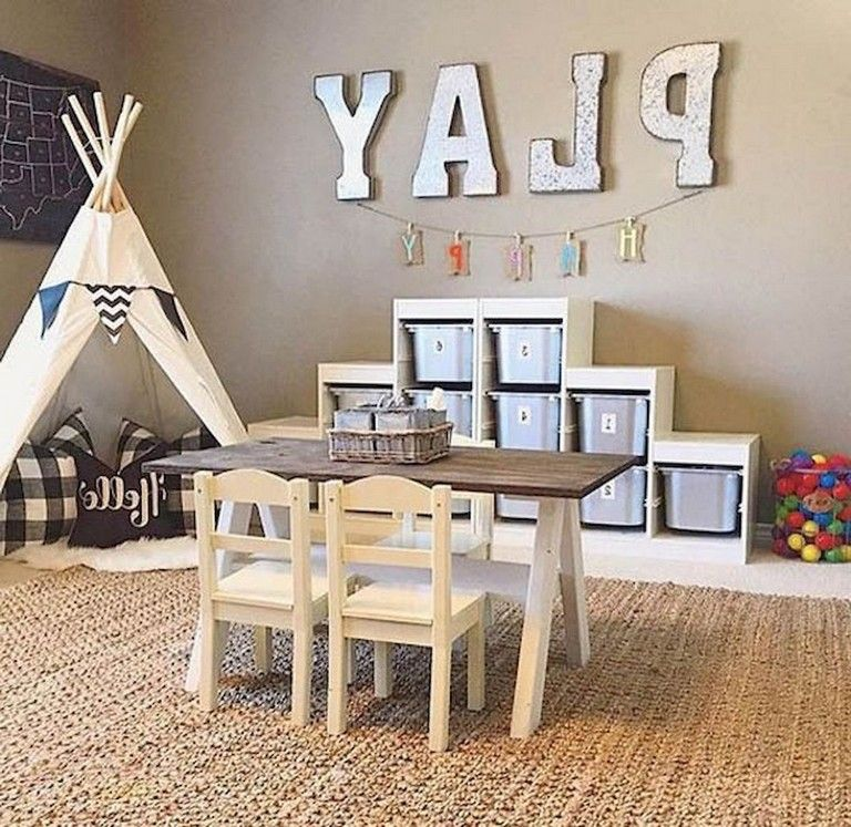 33+ Marvelous Playroom Ideas For Your Kids images