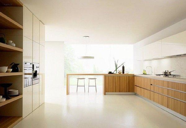 Risultati immagini per cucine legno massello moderne | Kitchen ...