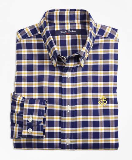 7bf4f8054492 Boys Non-Iron Supima® Cotton Check Sport Shirt   Products   Shirts ...