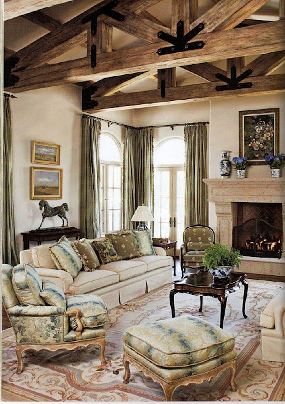 Room Nice 90 Incredible French Country Master Living