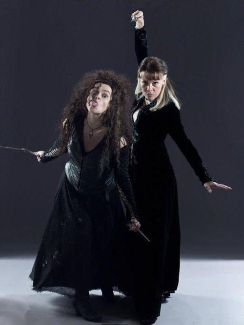 Bellatrix Lestrange Photo: Bellatrix and Narcissa