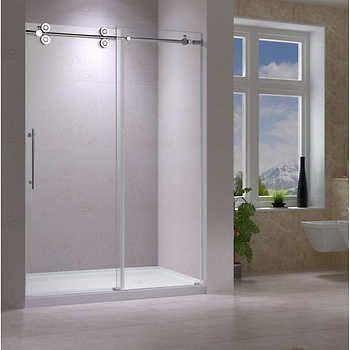 Ove Adena 72 In Shower Shower Doors Semi Frameless Shower
