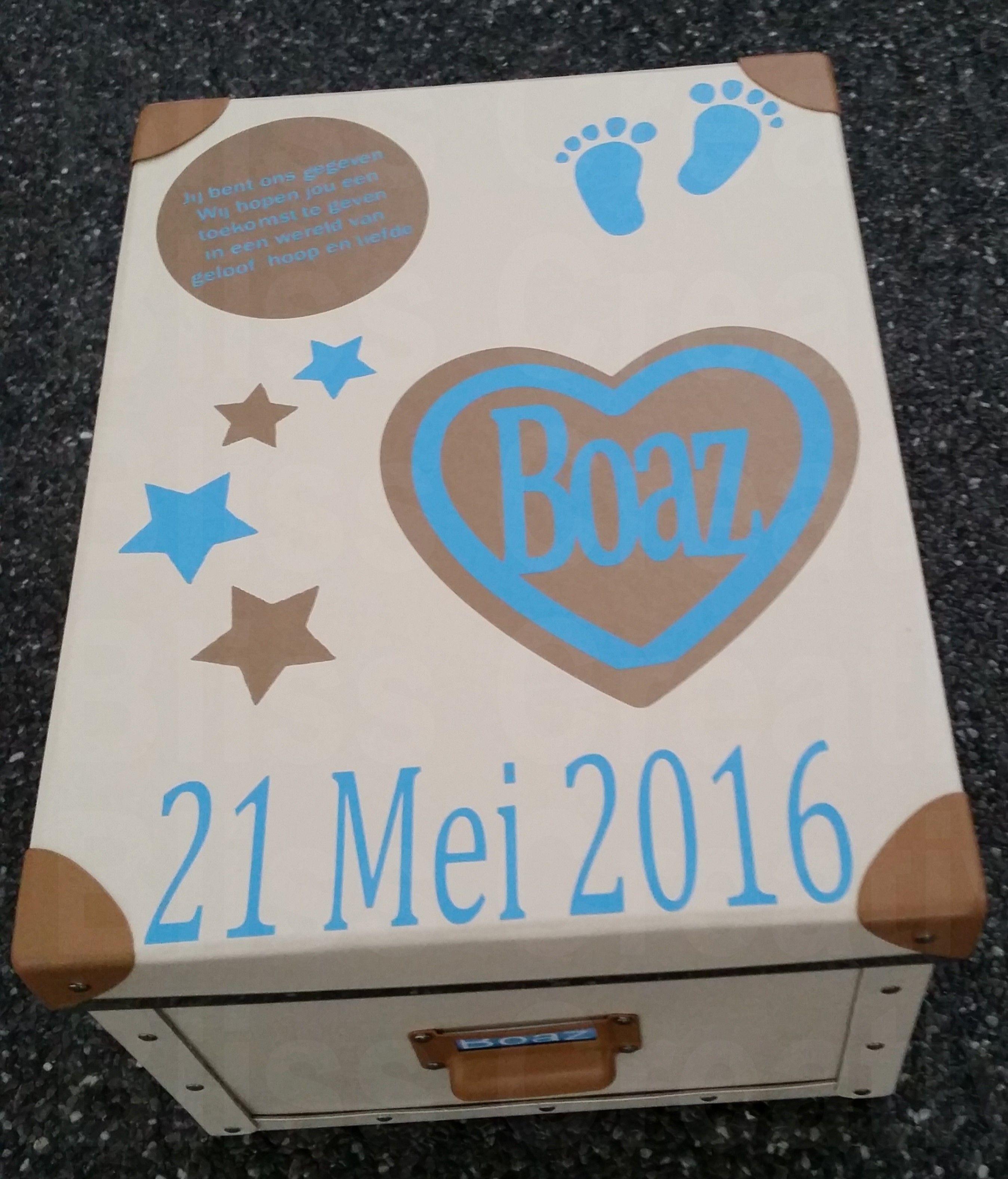 Kraam Cadeau Geboorte Box Kraam Cadeaus