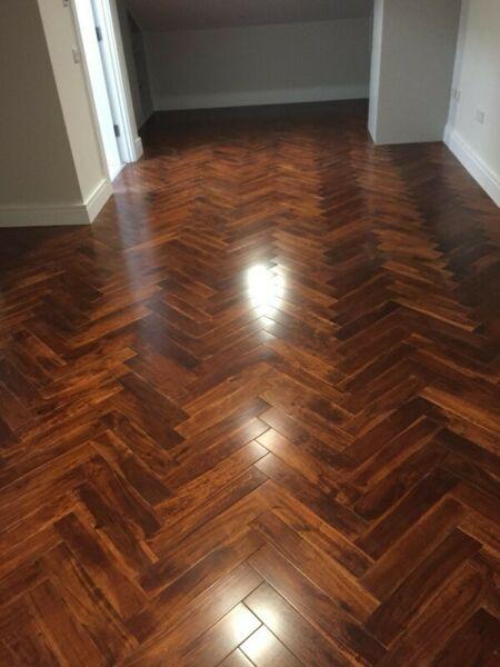 Herringbone & Laminate Floor Fitters available Kildare