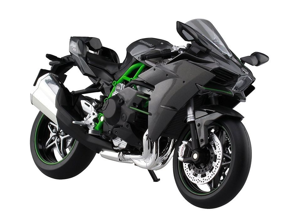 Aoshima 1 12 Skynet Finished Bike Kawasaki Ninja H2 4905083104569