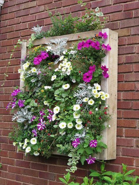 ▷ 1001 + tutoriels et idées pour fabriquer une jardinière en palette