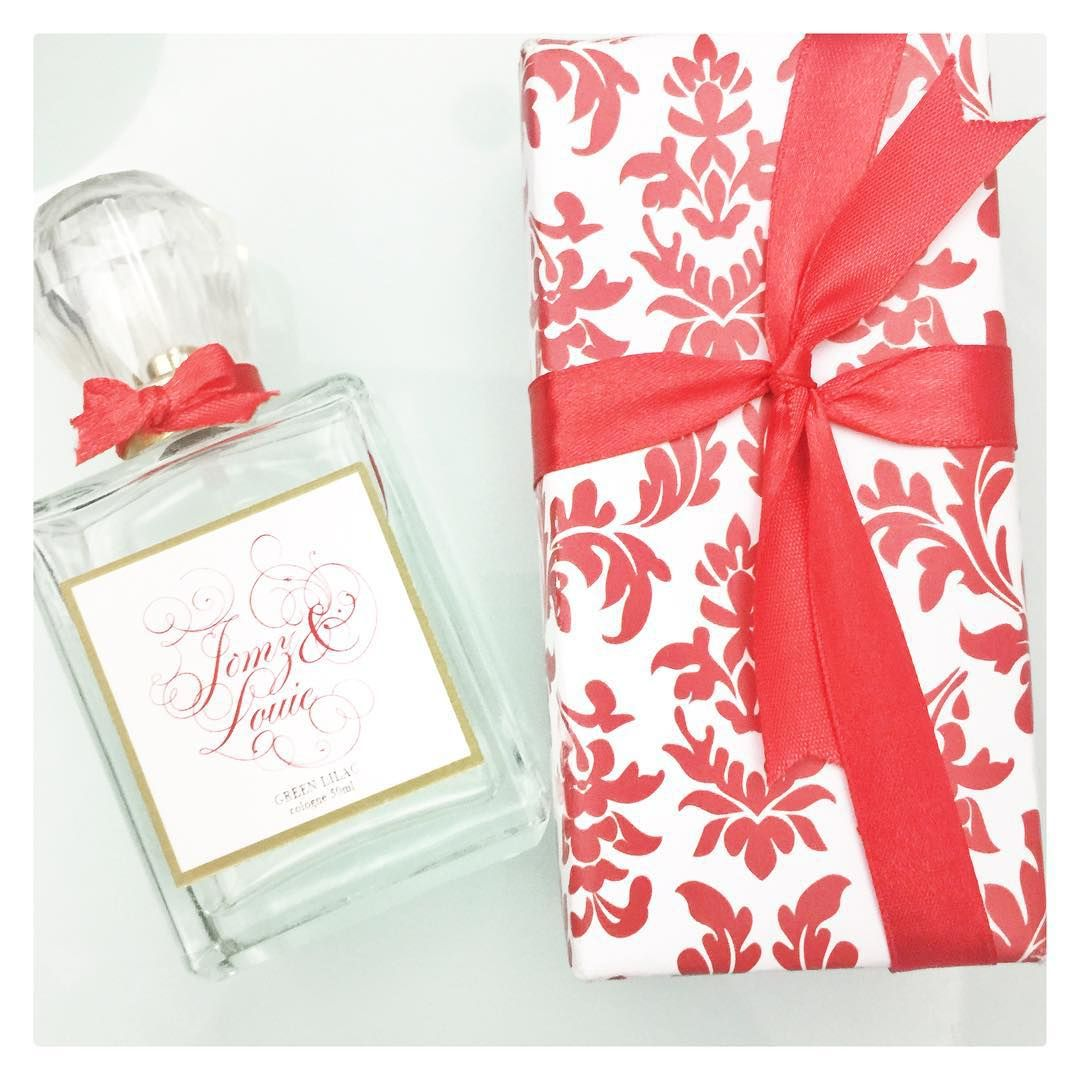 Personalized Red Wedding Favors    Made by BC Fragrance   Scented ...