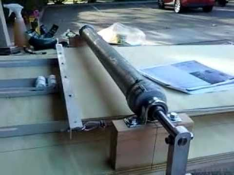 A Home Made Slab Roller From Old Wettlaufer Plans For