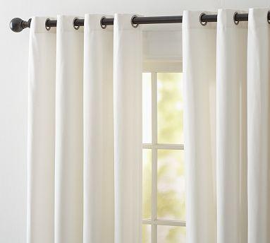 Cameron Cotton Grommet Curtain Grommet Curtains Custom Drapes