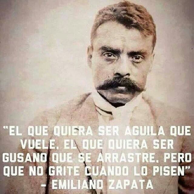 Emiliano Zapata Solo En Español Pinterest Quotes Spanish Interesting Emiliano Zapata Quotes