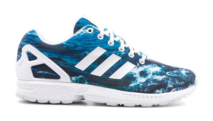 bas prix d0210 07f3e Adidas ZX Flux Ocean | Adidas zx flux