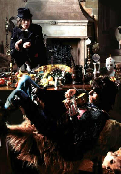gimmethestones:  The Glimmer Twins for Beggars Banquet, June 14, 1968. ©Photographed by Michael Joseph.