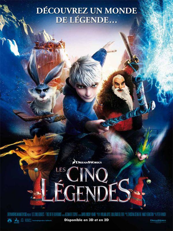 L'aventure d'un groupe de héros, tous doués de pouvoirs extraordinaires. Emmenées par Jack Frost, un adolescent rebelle et ingénieux, ces cinq légendes vont devoir, pour la première fois, unir leurs forces pour protéger les espoirs, les rêves et l'im...