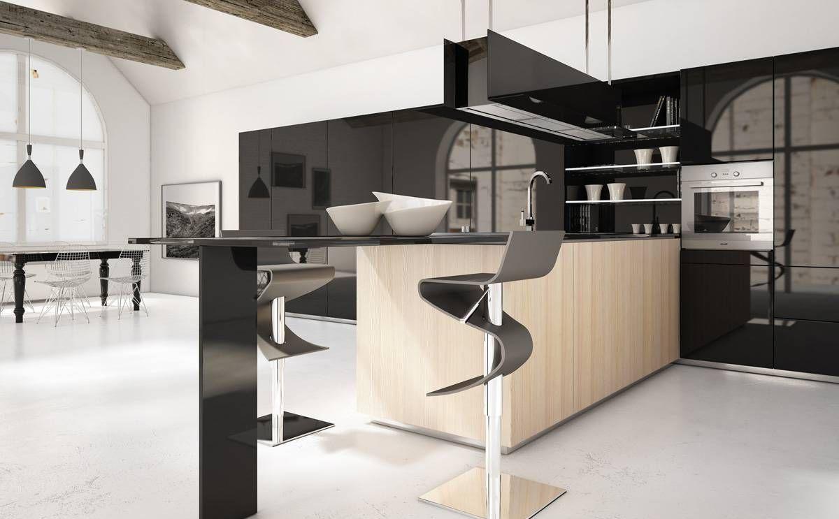 Modern Design Takes Kitchen Makeovers From Basic To Elegant Kitchen Decor Modern Modern Kitchen Kitchen Design Decor
