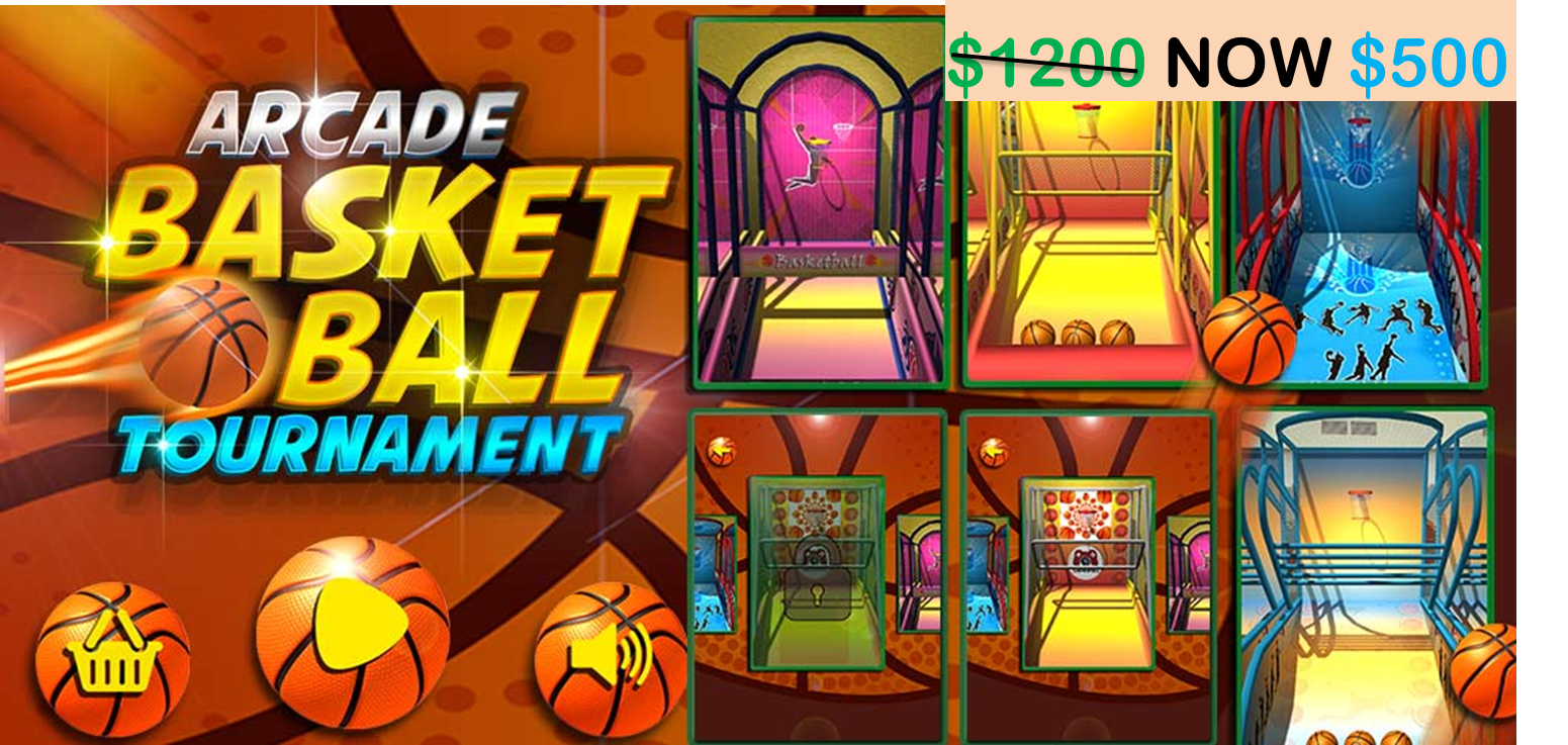 Start to Build your own 3DArcade Basketball Tournament