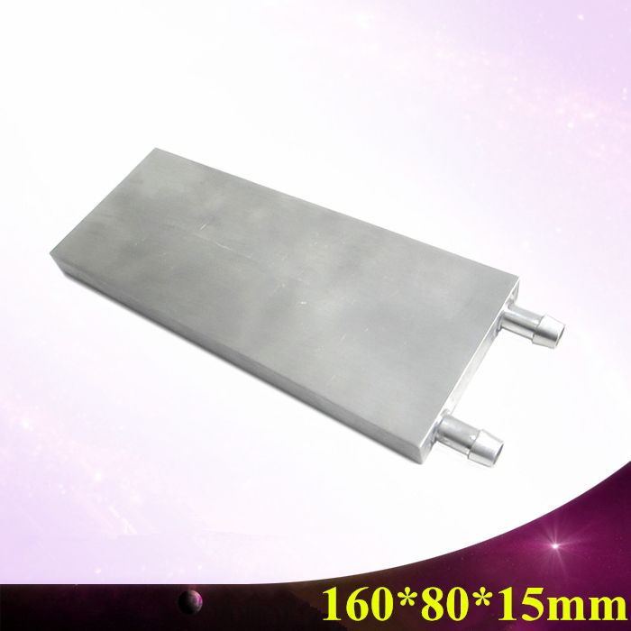 160 80 15mm Industrial M Shaped Water Board Block Cooling Cooler
