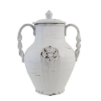 Decorative Urns With Lids Gorgeous Napoli Urn W Lid  Furniture Chintz  Pinterest  Urn Design Ideas