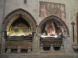 Salamanca Catedral Vieja Sepulcros ypinturas