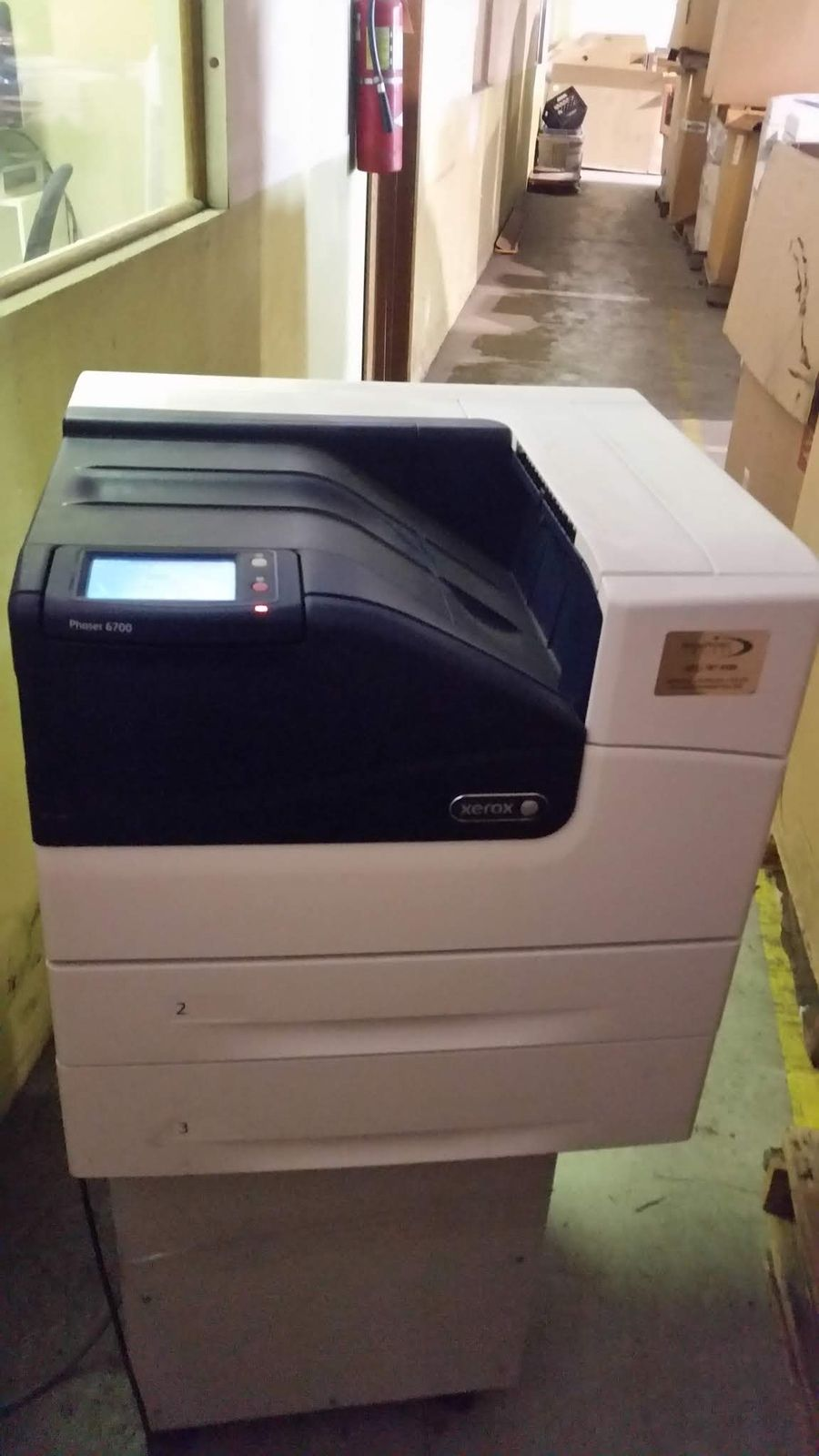 Xerox Phaser 6700 Dn Color Laser Printer With Stand Refurbished