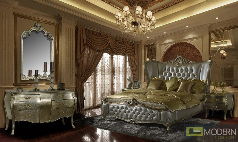 Best Evangelino European Style Luxury Queen Or King Bed 400 x 300
