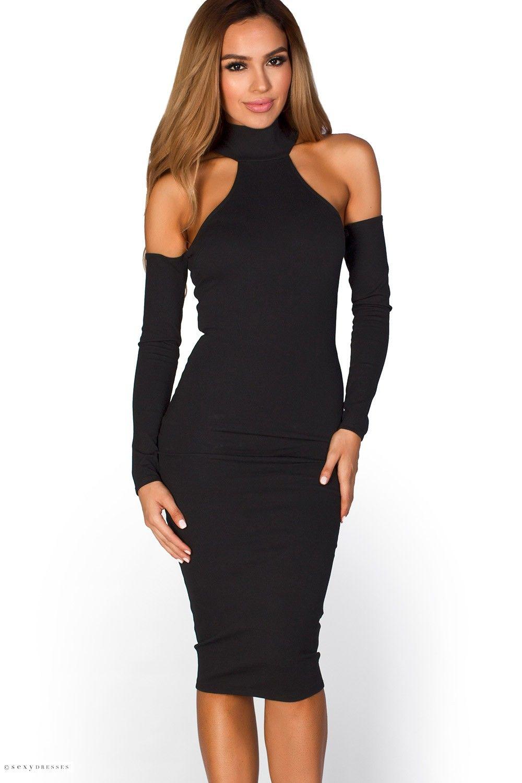 Image result for long sleeve dresses slutty