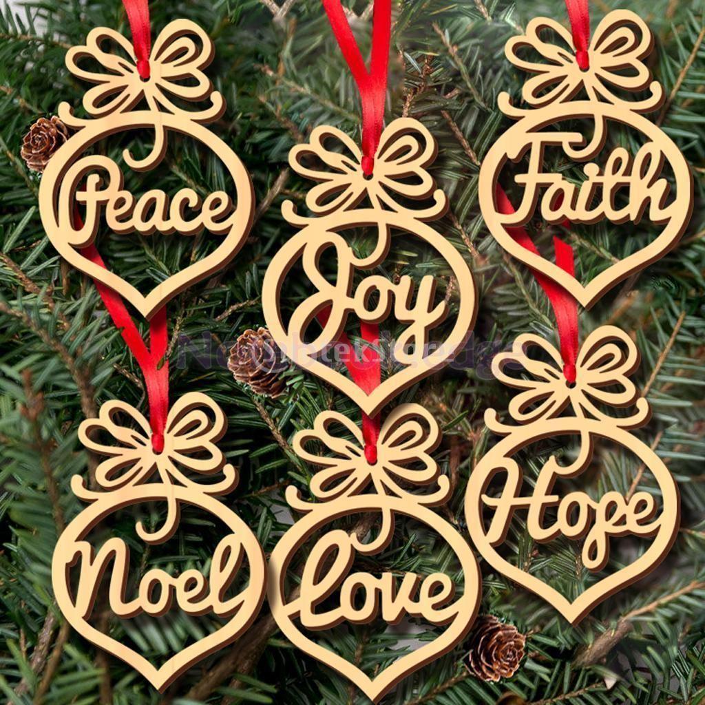 Noel hanging decorations