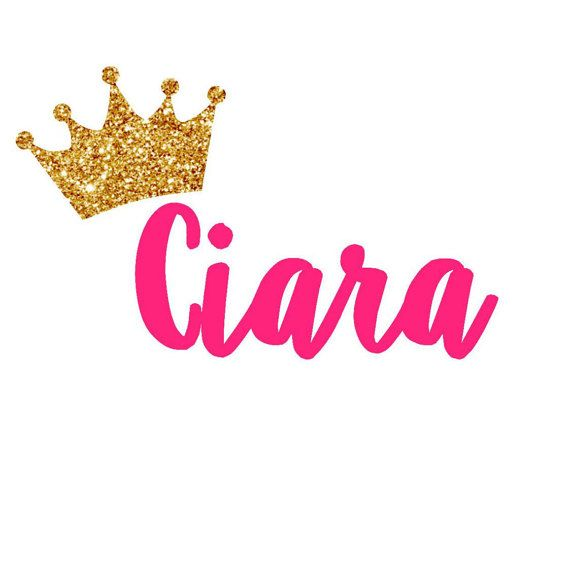Crown Princess Laura On Board Personalised Baby Girl Car Sign