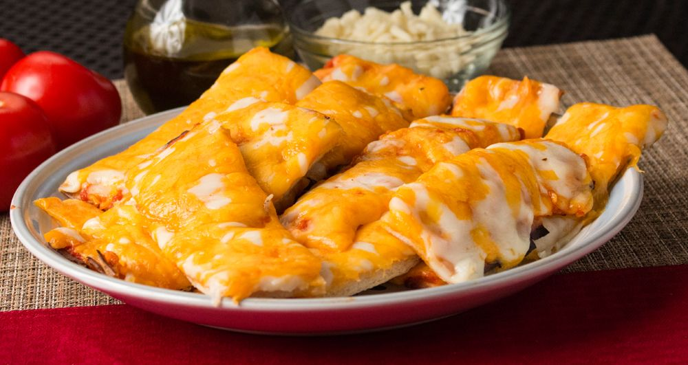 Cheese stick appetizer made with mama marys pizza crust got to food forumfinder Images