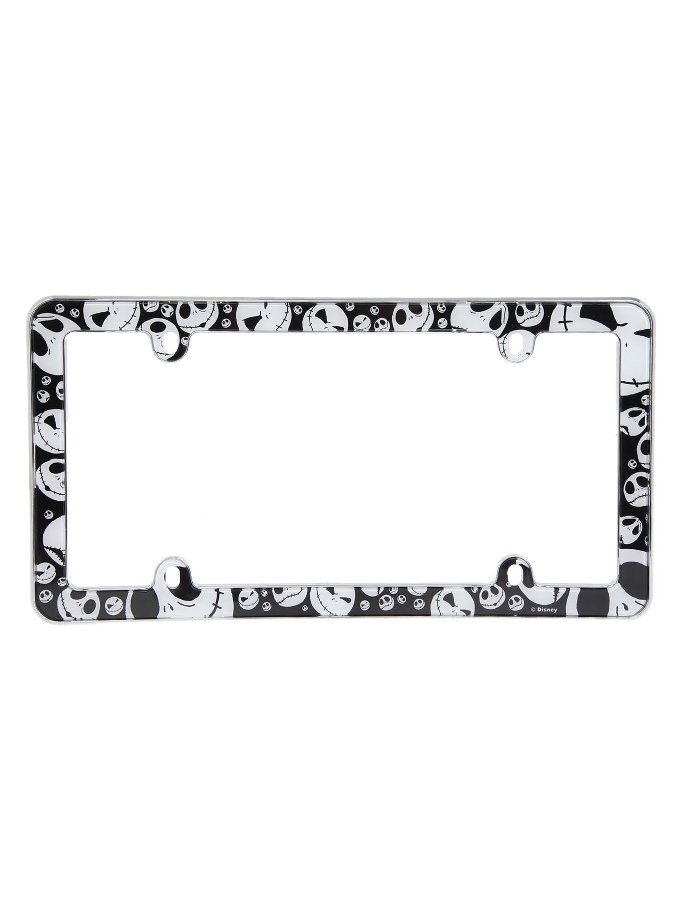 The Nightmare Before Christmas Jack License Plate Frame | Hot Topic ...
