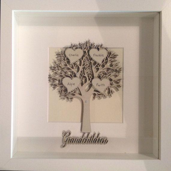 Árbol de enmarcado personalizado | Árbol familiar | Pinterest ...