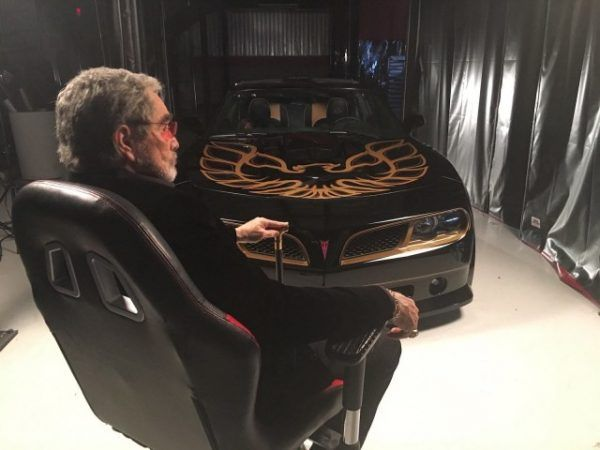 gm new car releasesBurt Reynolds introduces the new Bandit Trans Am Video  Cars I