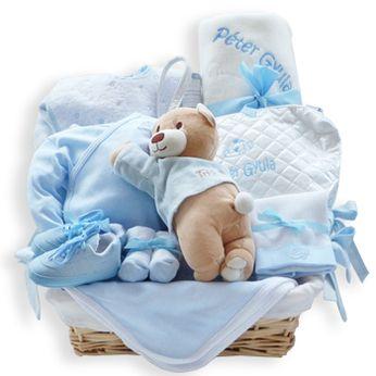 Canasta Para Bebe Recien Nacido.Canastilla Ajuar Mediana Cesta Para Bebe Canastilla Para