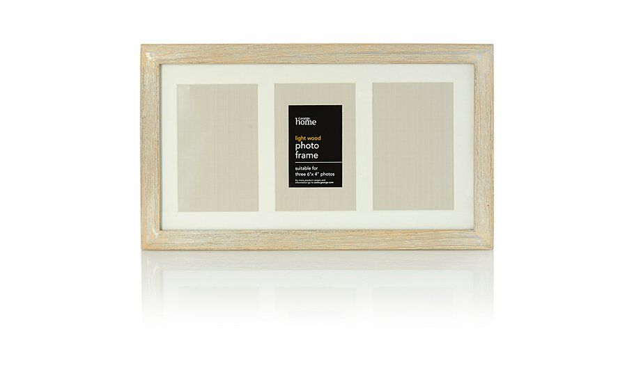 George Home Wooden Photo Frame, read reviews and buy online at ...