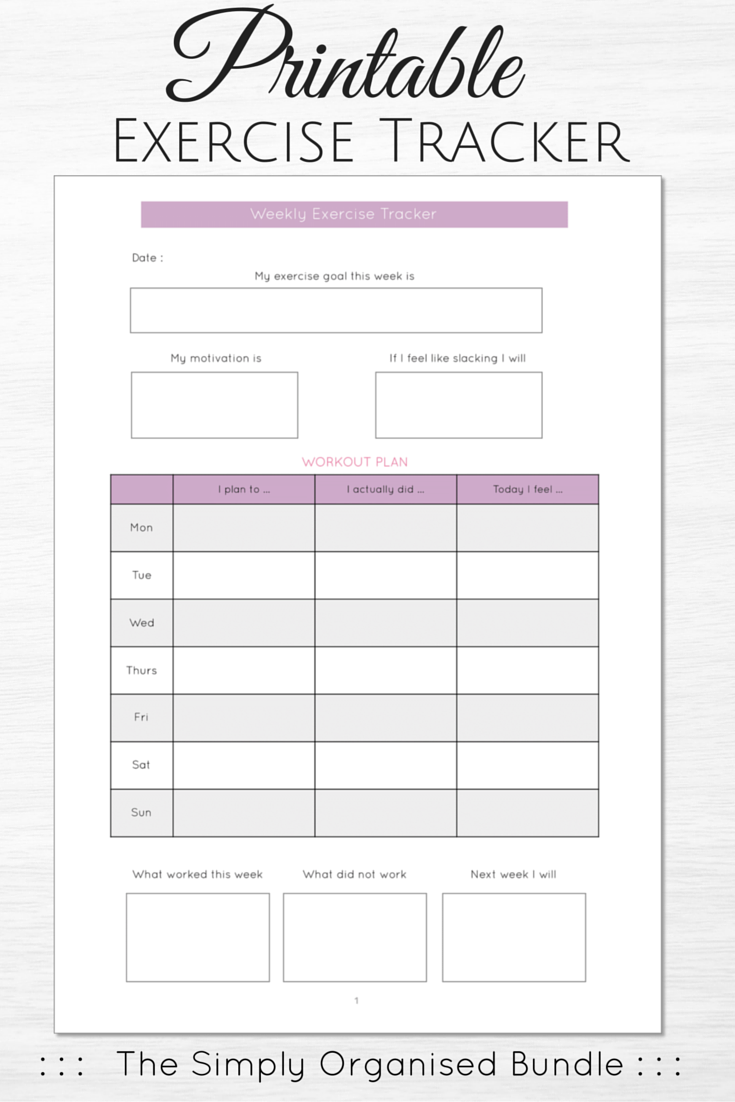 simply organised printables instant download a4 a5 letter
