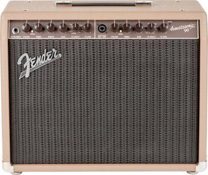 Fender Acoustasonic 90 Acoustic Guitar Combo Amplifier 90 Watts Acoustic Guitar Amp Acoustic Bass Guitar Fender Guitar Amps