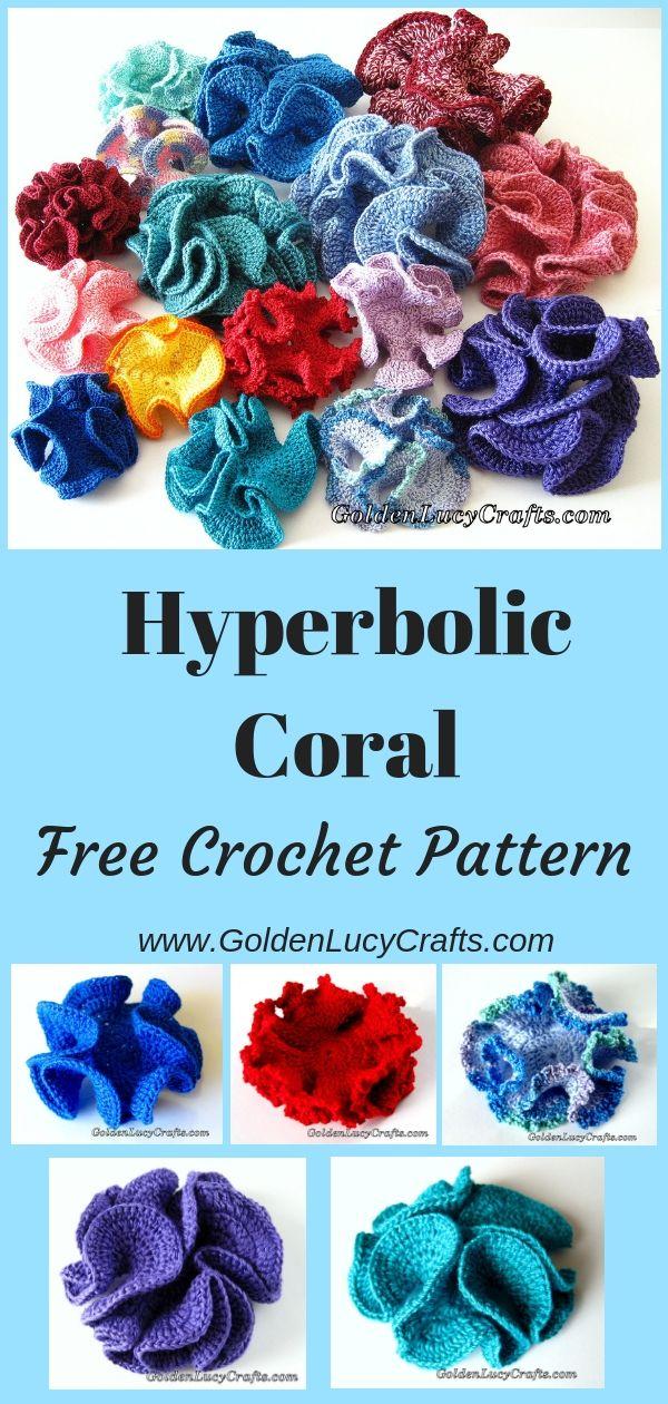 Crochet Hyperbolic Coral Crochet Patterns Goldenlucycrafts