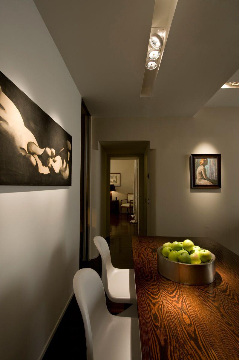 Trastevere apartment carola vannini architecture lighting