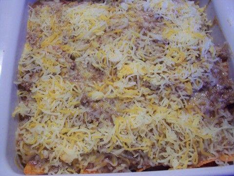 recipe: mexican beef casserole with doritos [37]