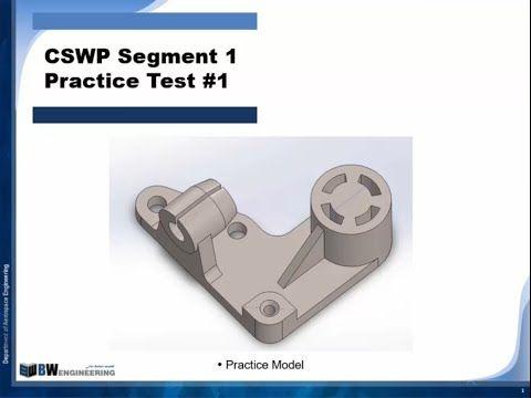 CSWP segment 1 Practice Test _ Part 1 - YouTube | уроки по solid ...