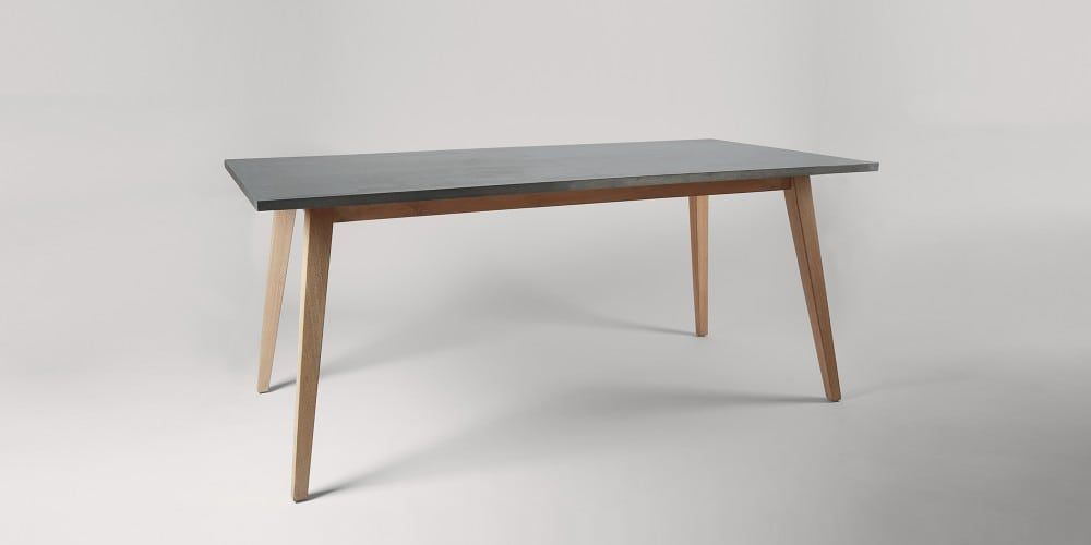 Contemporary Dulwich Wood steel Steel dining