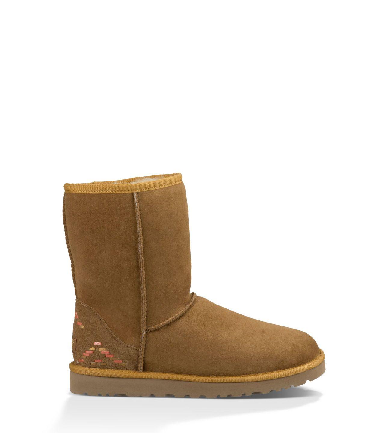 28e84672f99 UGG Official | Women's Classic Short Rustic Weave Footwear ...