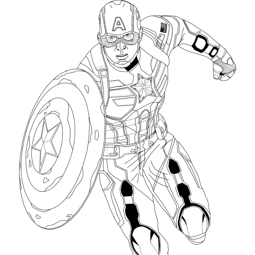 Captain America Winter Soldier Suit Superhero Coloring Pages Superhero Coloring Pages Captain America Coloring Pages Superhero Coloring